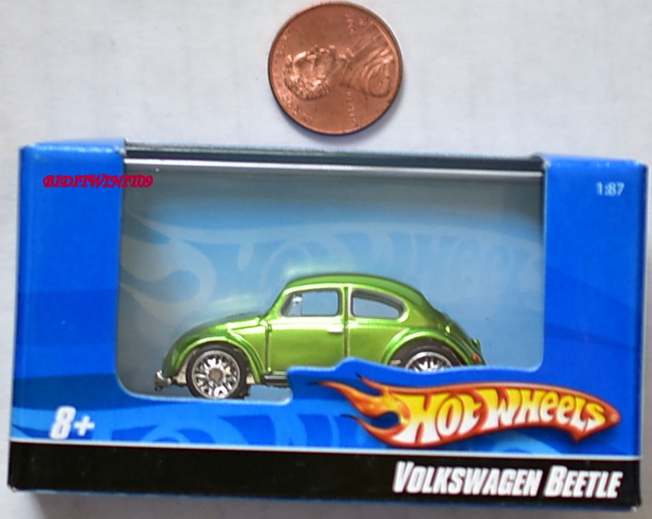 HOT WHEELS VOLKSWAGEN BEETLE 1:87 GREEN