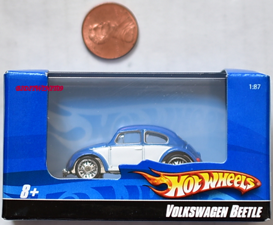 HOT WHEELS VOLKSWAGEN BEETLE 1:87 BLUE