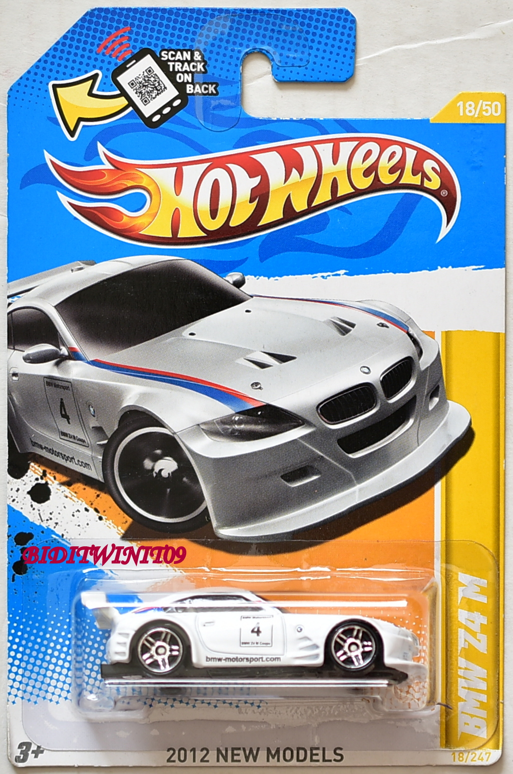Hot Wheels 2012 New Models Bmw Z4 M White 0009053 8