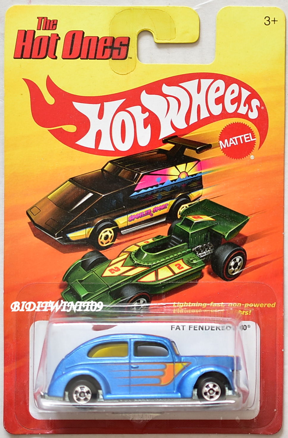 HOT WHEELS THE HOT ONES FAR FENDERED