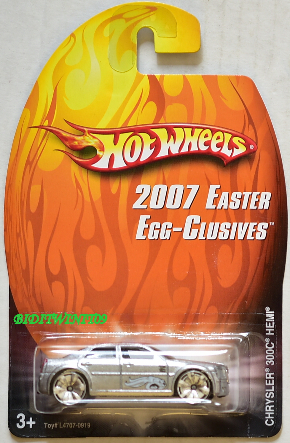 HOT WHEELS 2007 EASTER EGG-CLUSIVES CHRYSLER 300C HEMI