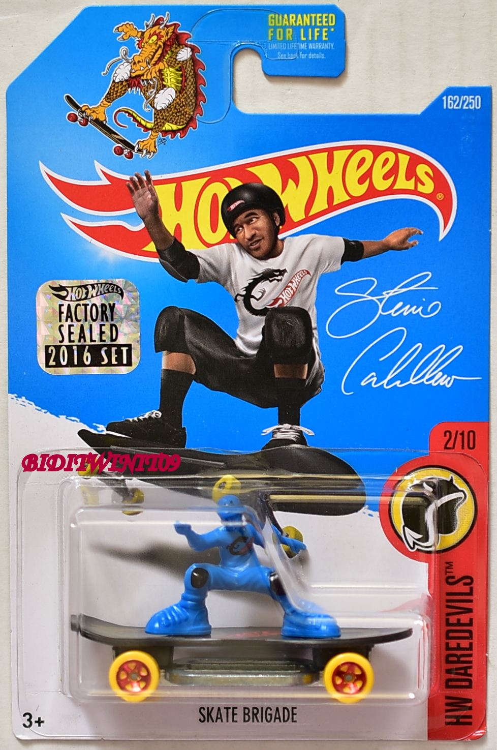 HOT WHEELS 2016 HW DAREDEVILS SKATE BRIGADE FACTORY SEALED