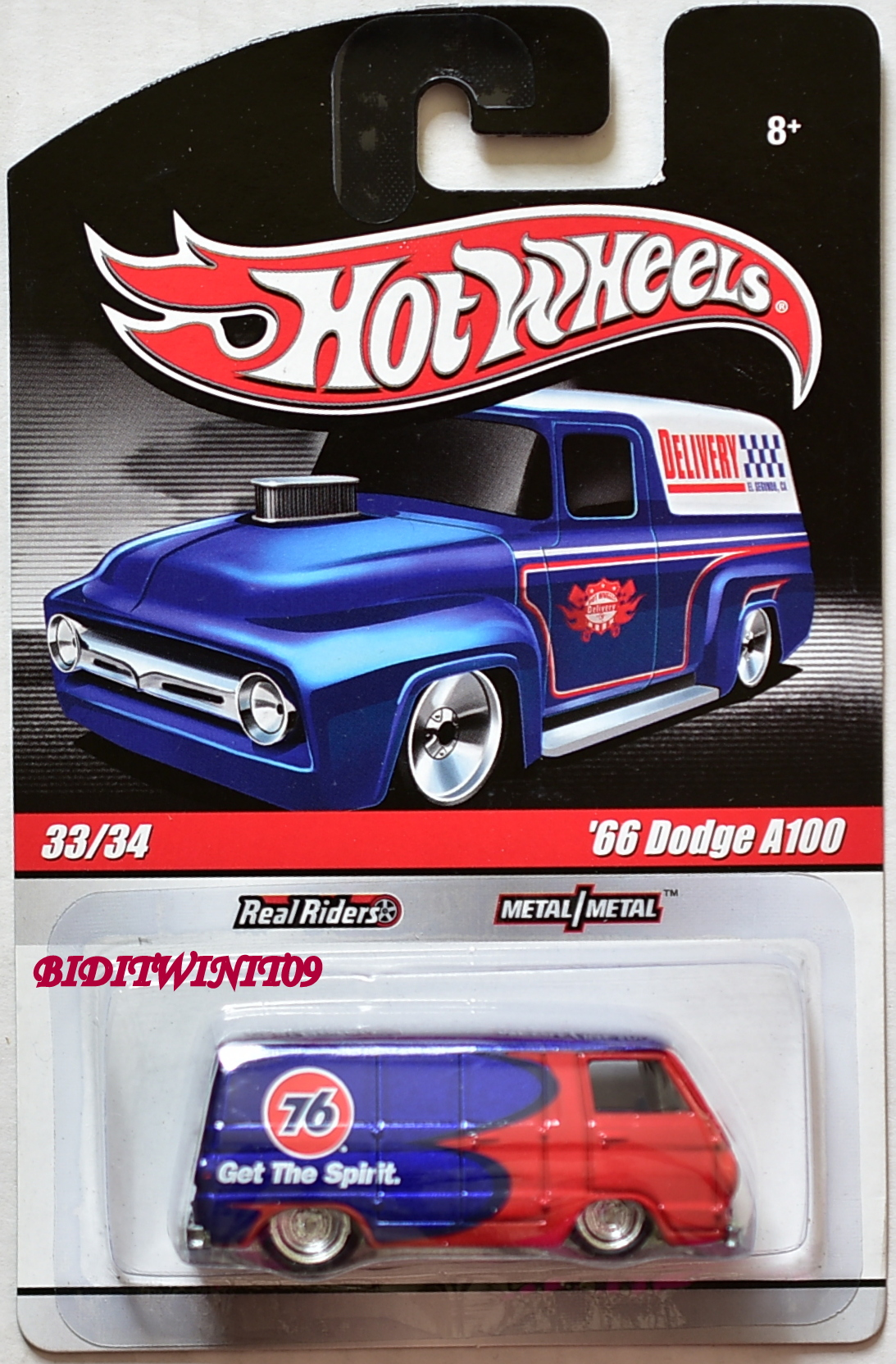 HOT WHEELS DELIVERY '66 DODGE A100 #33/34 RED
