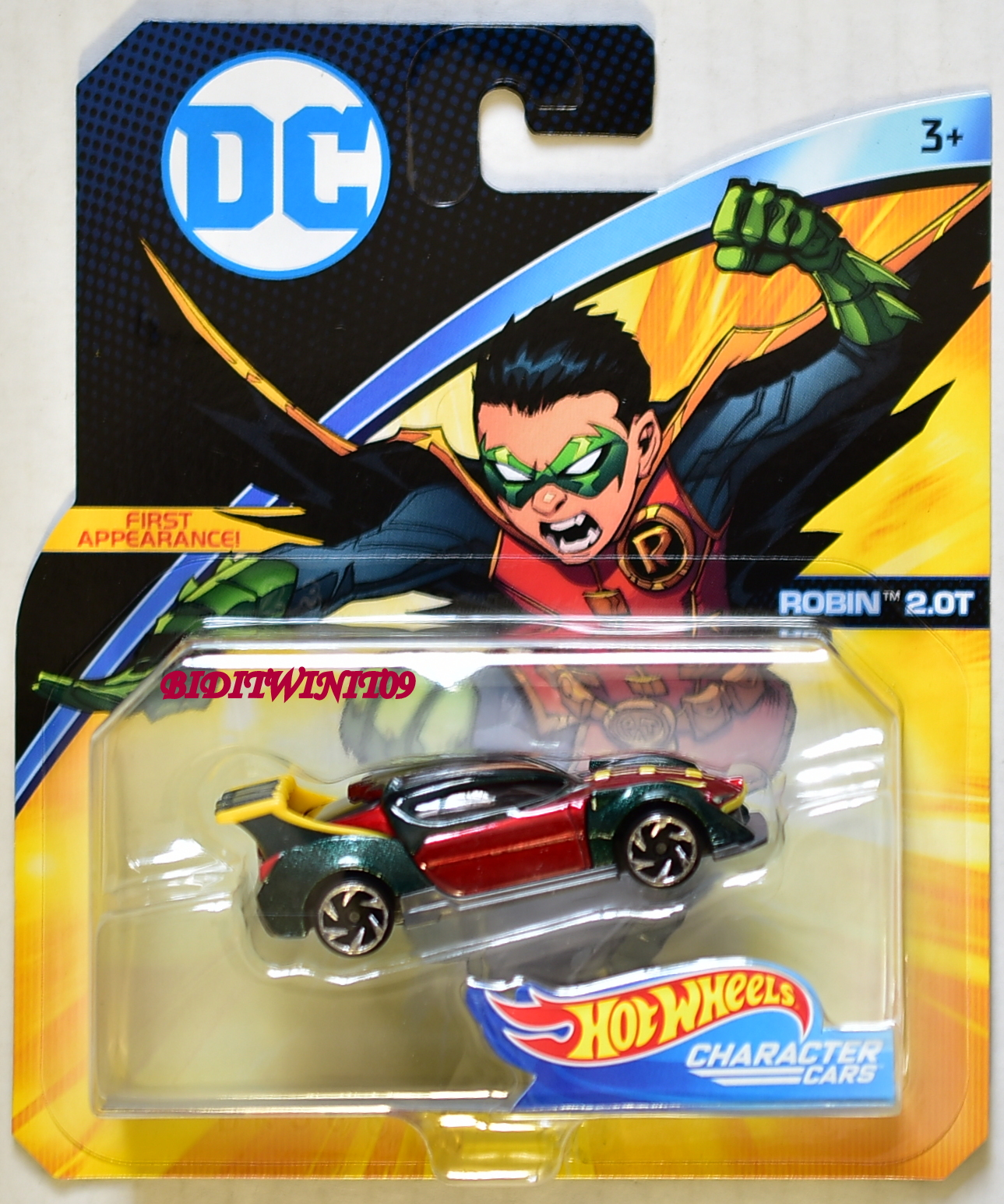 hot wheels 2018 dc comics injustice 2 the flash character cars 0007094 biditwinit09. Black Bedroom Furniture Sets. Home Design Ideas