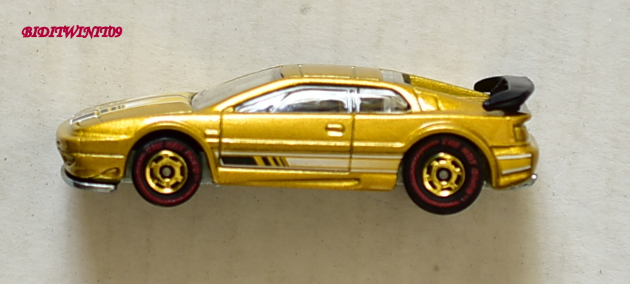 HOT WHEELS THE HOT ONES LOTUS ESPRIT CHASE E+