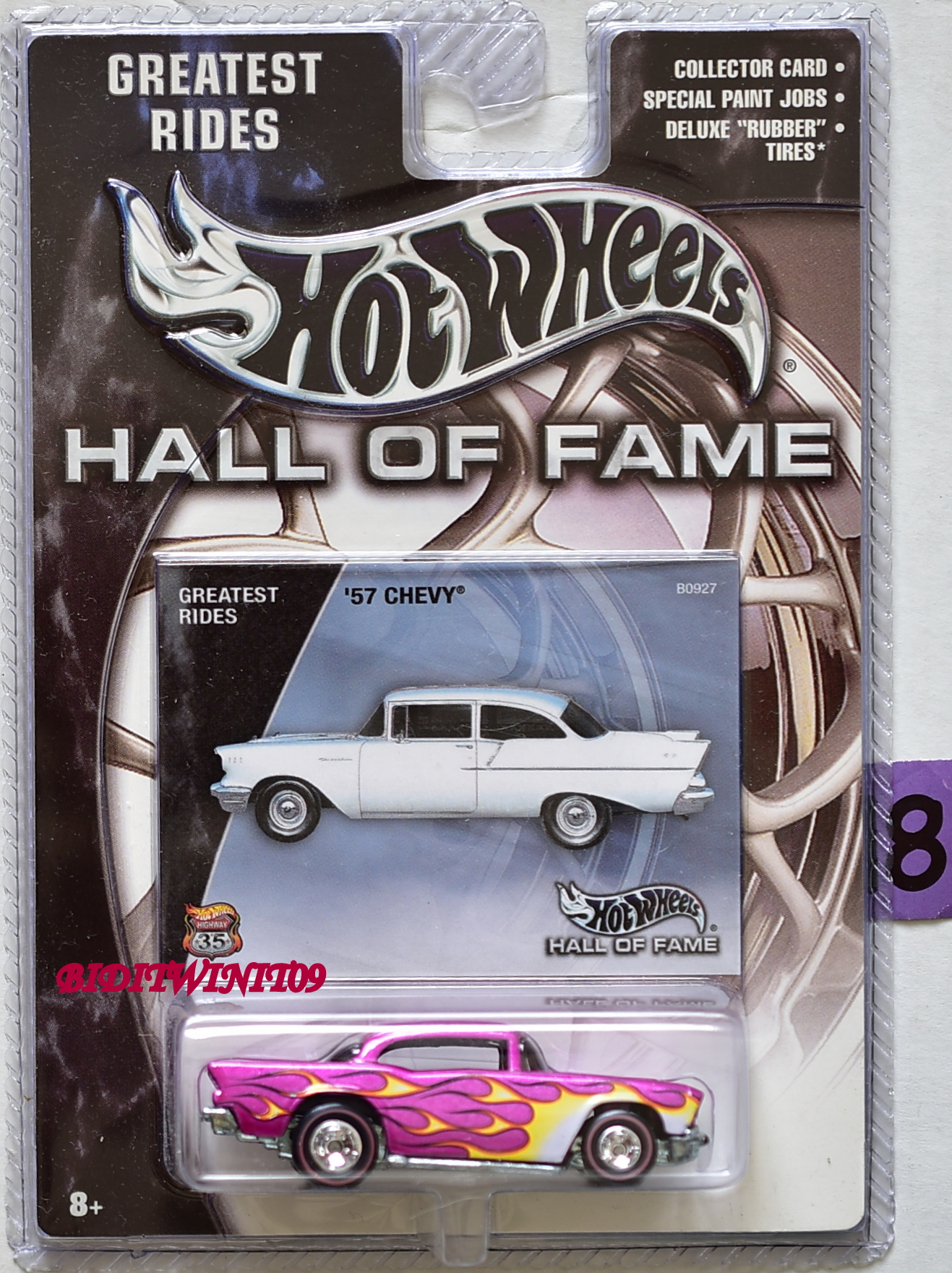HOT WHEELS HALL OF FAME GREATEST RIDES - '57 CHEVY