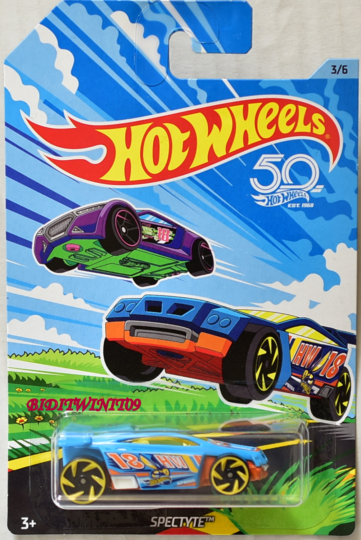HOT WHEELS 2018 50TH ANNIVERSARY SPECTYTE #3/6