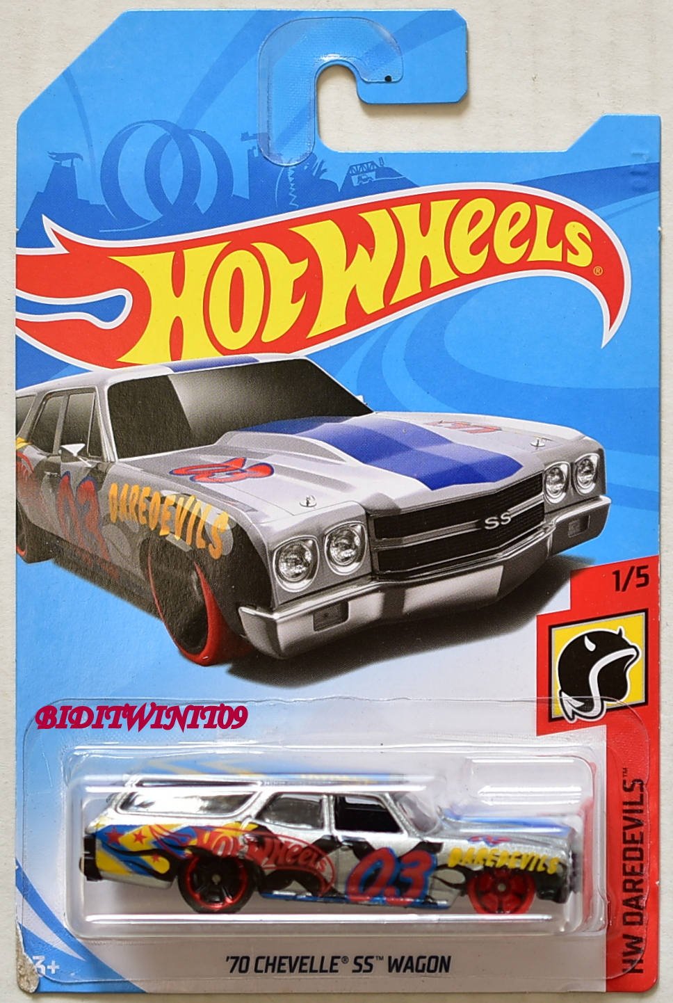 HOT WHEELS 2018 HW DAREDEVILS '70 CHEVELLE SS WAGON