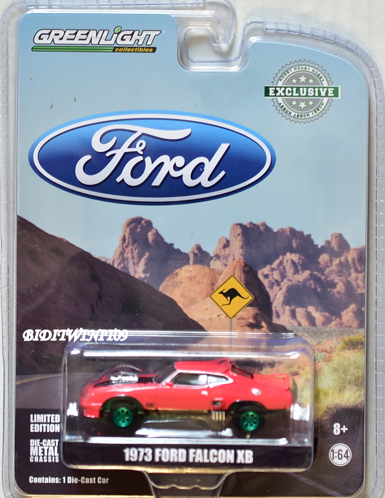 GREENLIGHT 2018 GREEN MACHINE HOBBY EXCLUSIVE 1973 FORD FALCON XB RED