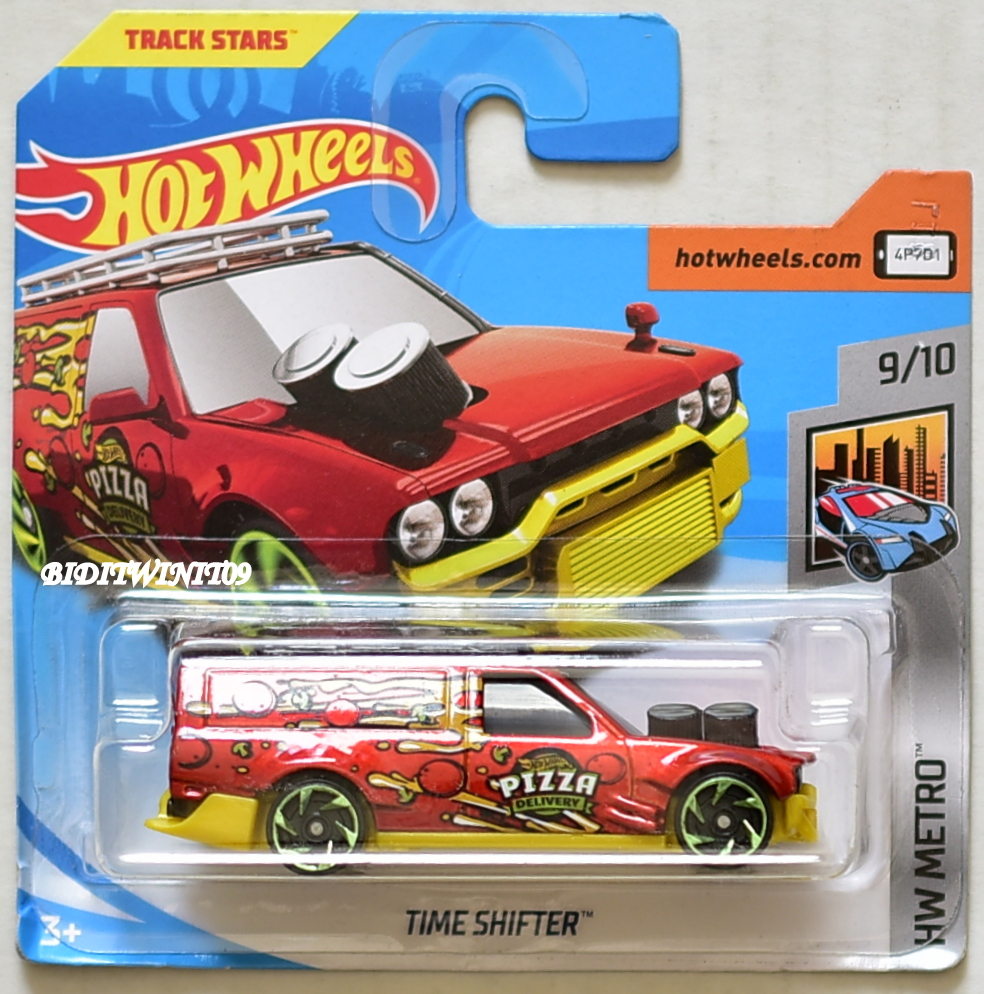 HOT WHEELS 2018 HW METRO TIME SHIFTER #9/10 RED SHORT CARD