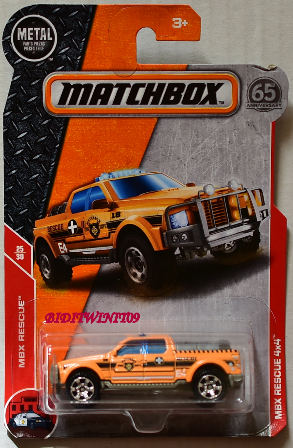 MATCHBOX 2018 MBX RESCUE 4X4 #25/30