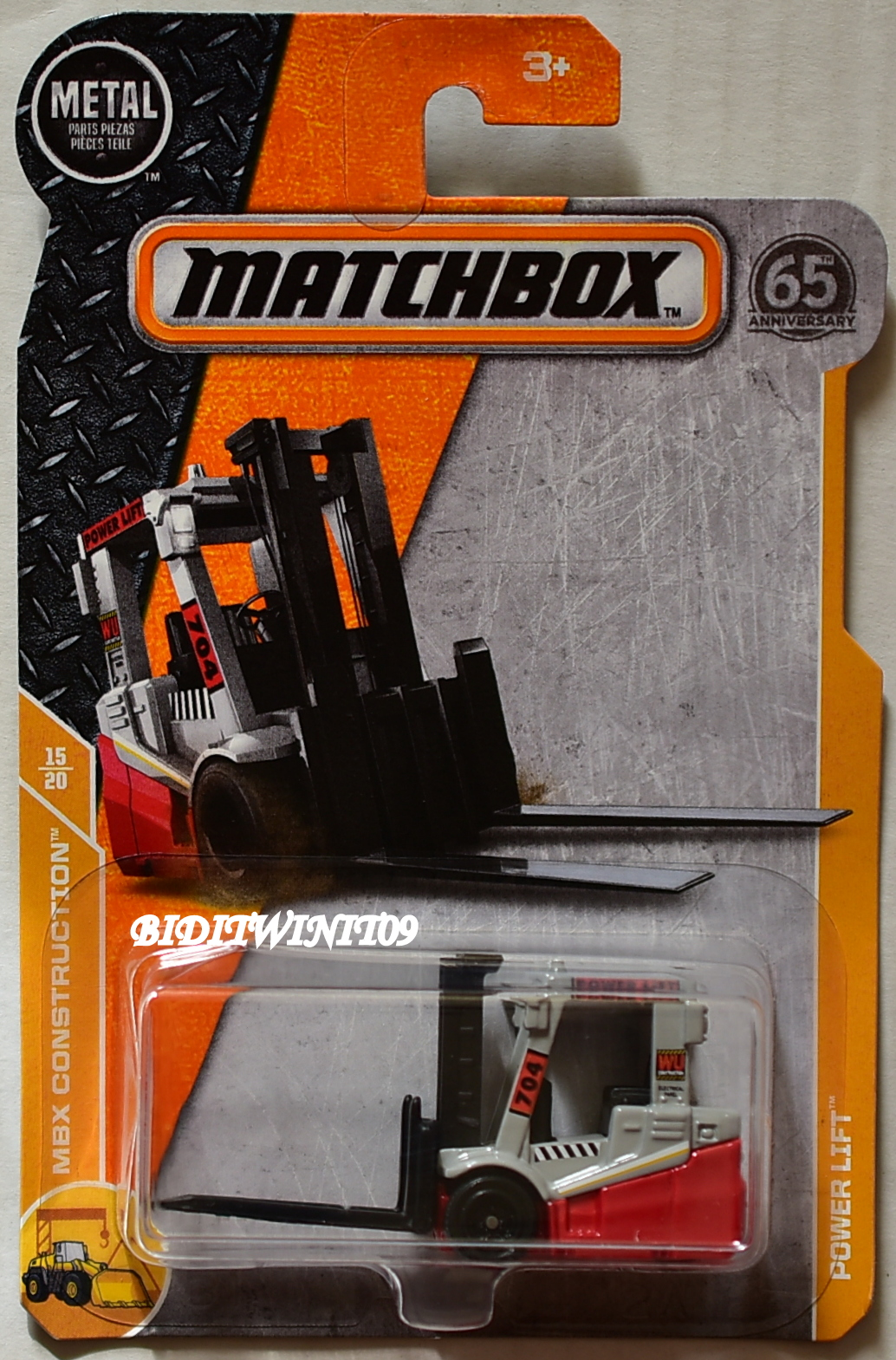 MATCHBOX 2018 MBX CONSTRUCTION POWER LIFT
