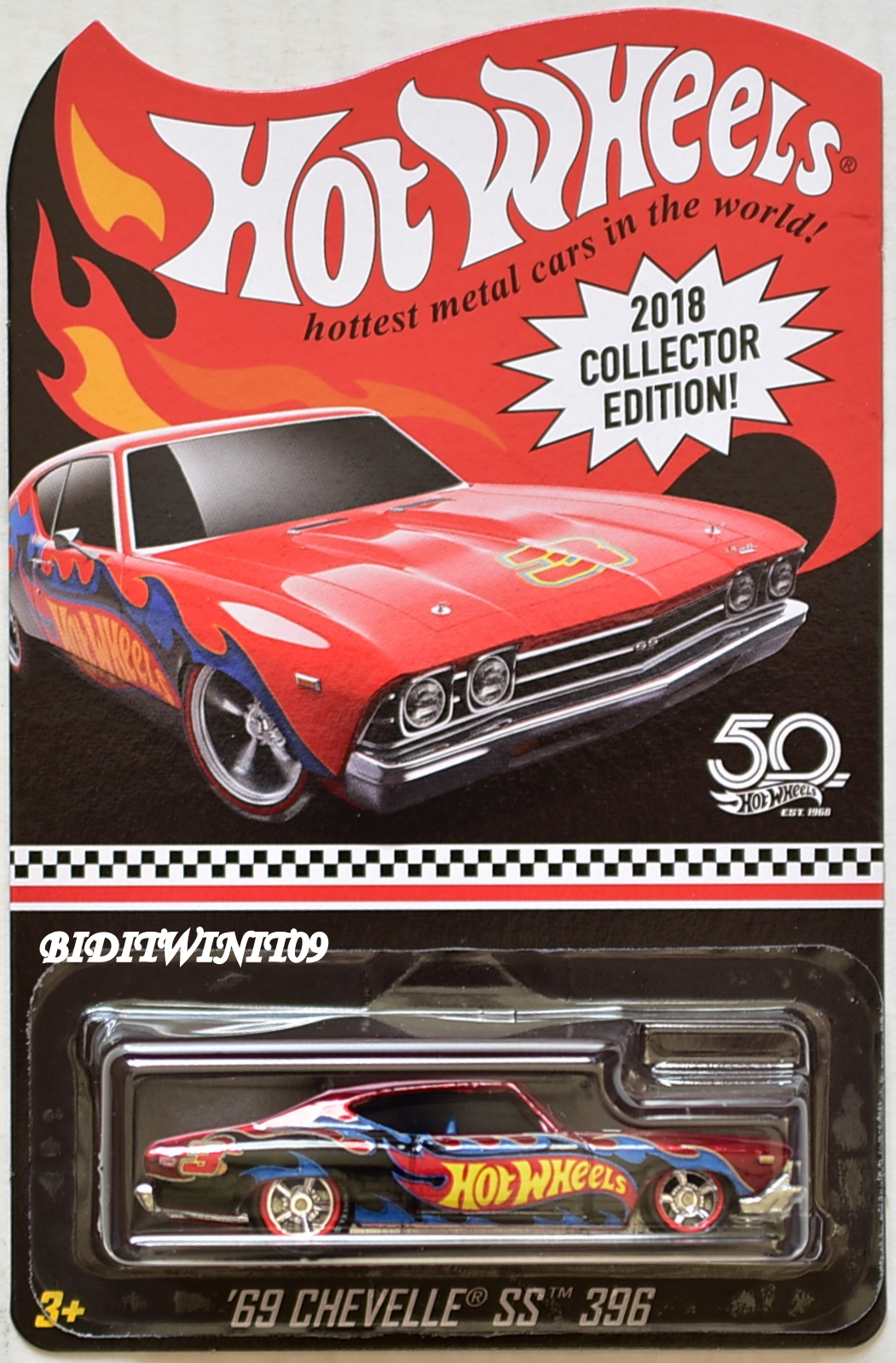 2018 Chevelle Ss >> Hot Wheels 2018 Collector Edition 69 Chevelle Ss 396 Mail