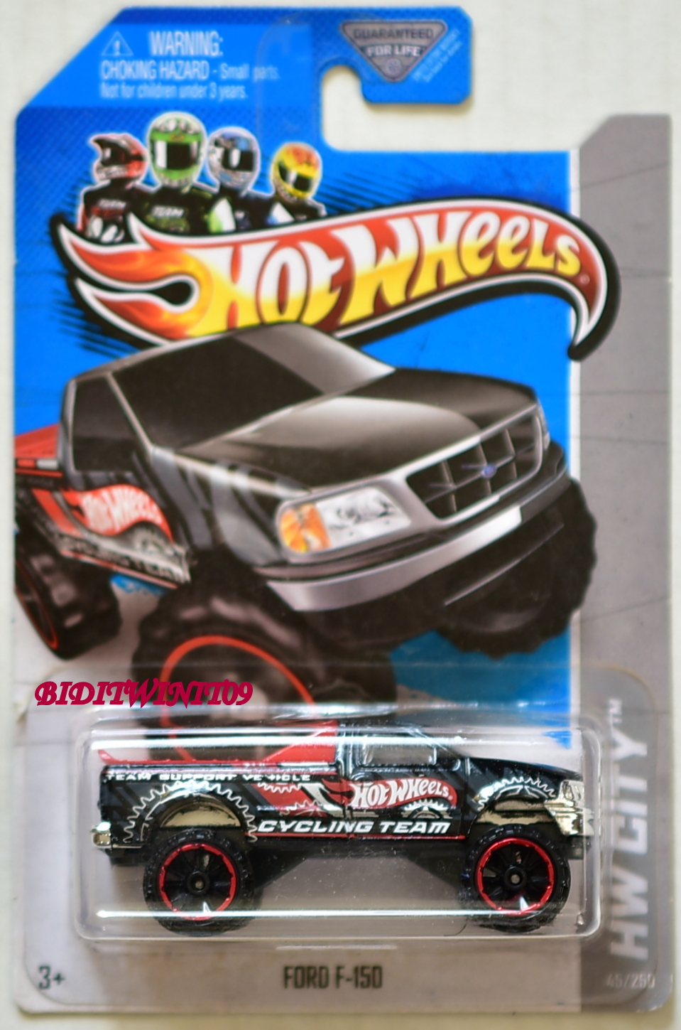 HOT WHEELS 2013 HW CITY WORK FORD F-150 BLACK