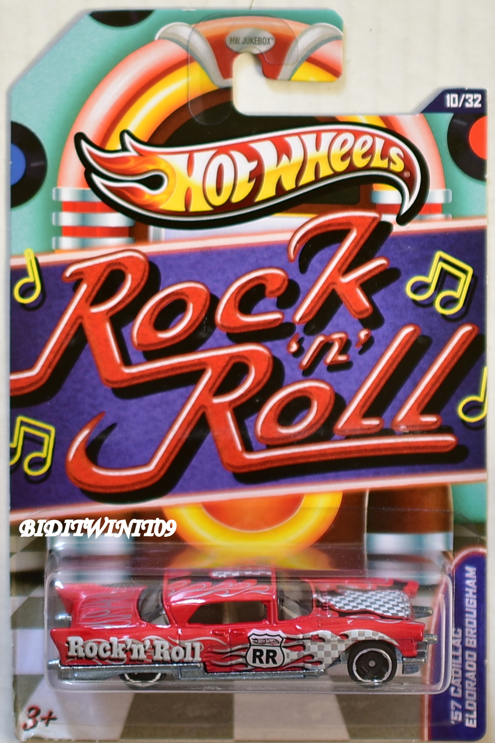 HOT WHEELS ROCK N' ROLL '57 CADILLAC ELDORADO BROUGHAM