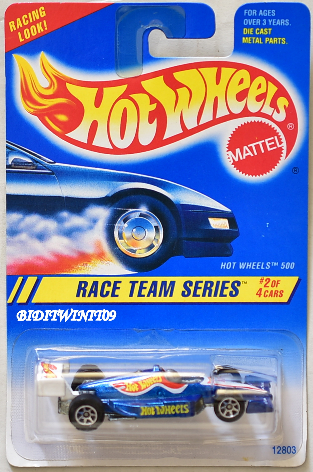 HOT WHEELS 1994 SPEED GREAMER SERIES HOT WHEELS 500 #2/4 E+
