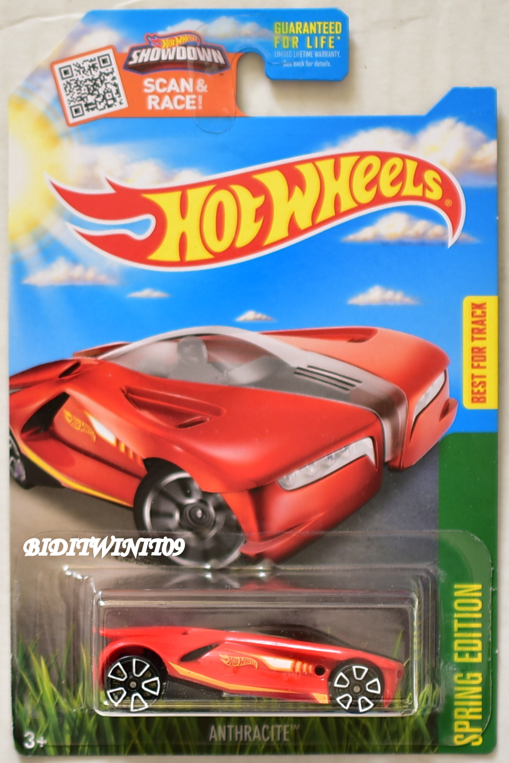 HOT WHEELS 2016 SPRING EDITION ANTHRACITE TARGET EXCLUSIVE