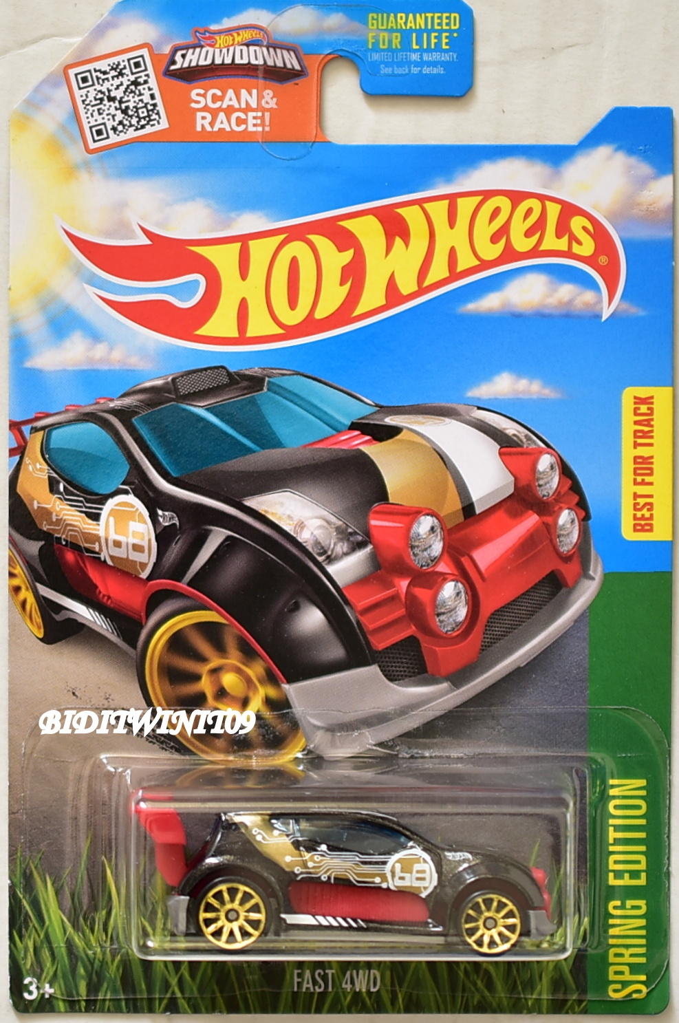 HOT WHEELS 2016 SPRING EDITION FAST 4WD TARGET