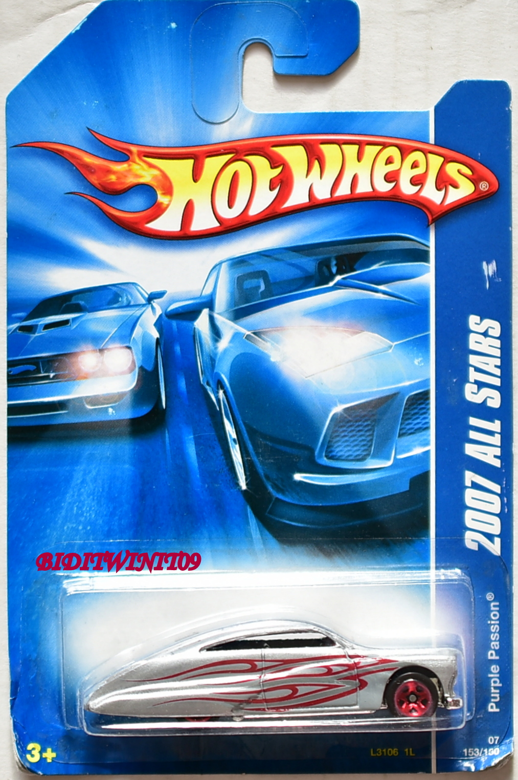 HOT WHEELS 2007 ALL STARS PURPLE PASSION SILVER