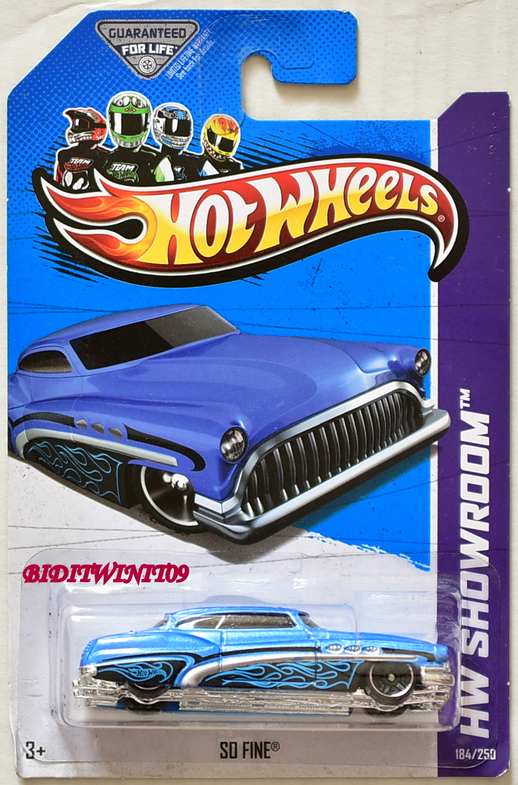 HOT WHEELS 2013 HW SHOWROOM - AMERICAN TURBO SO FINE