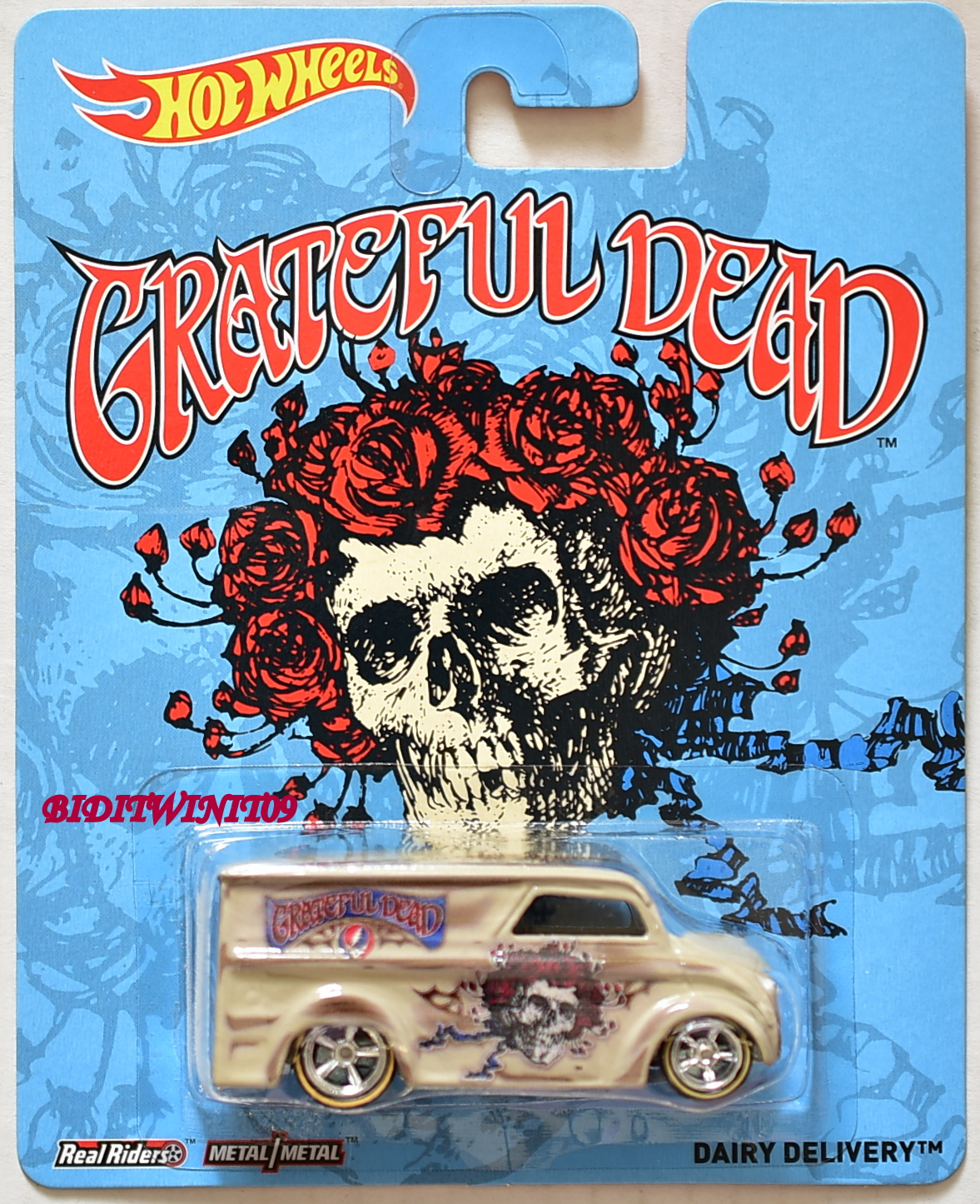 HOT WHEELS POP CULTURE 2014 GRATEFUL DEAD DAIRY DELIVERY