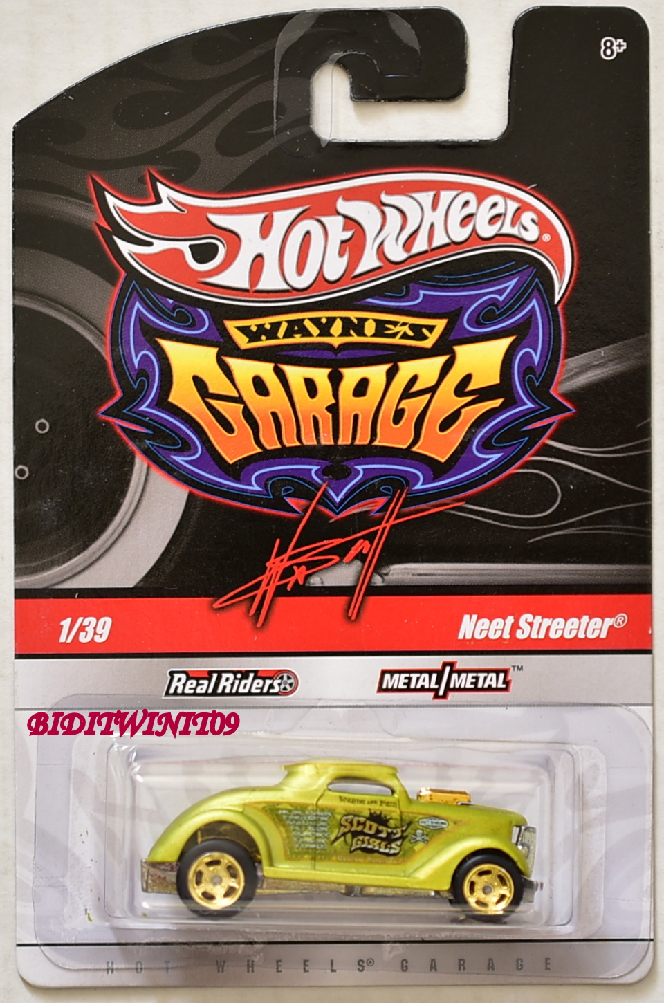 HOT WHEELS WAYNE'S GARAGE NEET STREETER #1/39