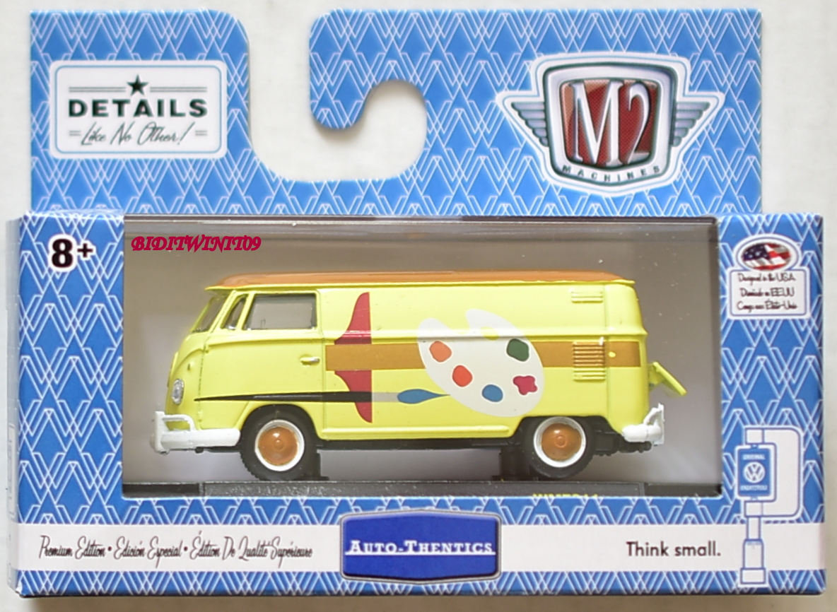 M2 MACHINES 2018 WALMART EXCLUSIVE 1960 VW DELIVERY VAN USA MODEL WMTS11