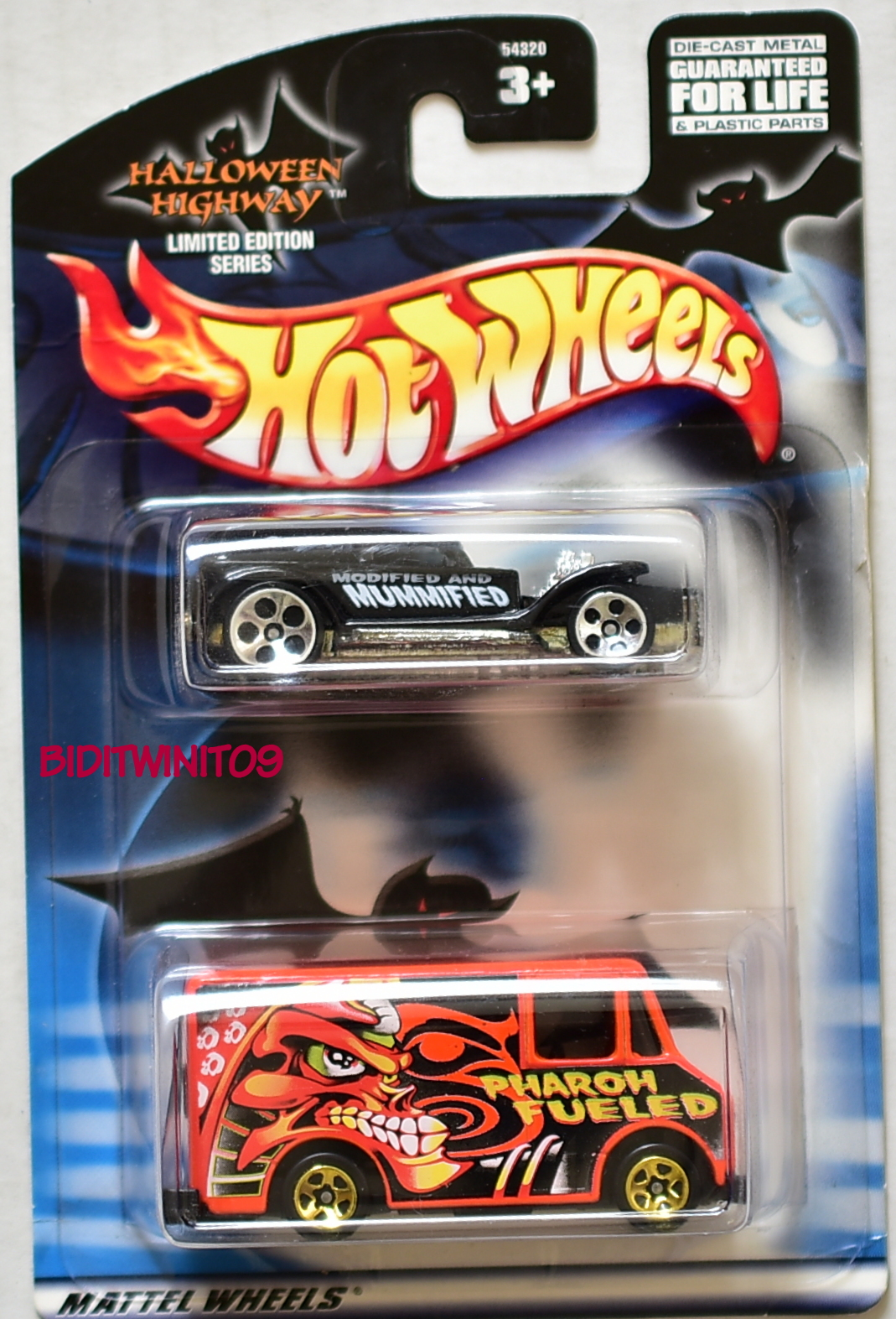HOT WHEELS HALLOWEEN COMBAT MEDIC - DEMON LIMITED EDITION 2 CAR PACK