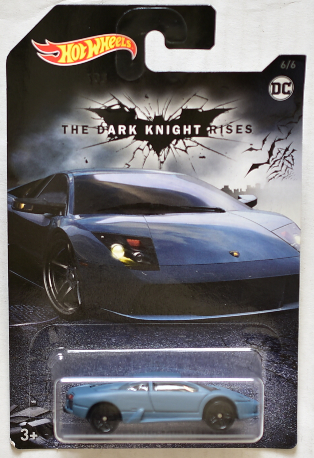 HOT WHEELS BATMAN 2018 THE DARK KNIGHT RISES LAMBORGHINI MURCIELAGO