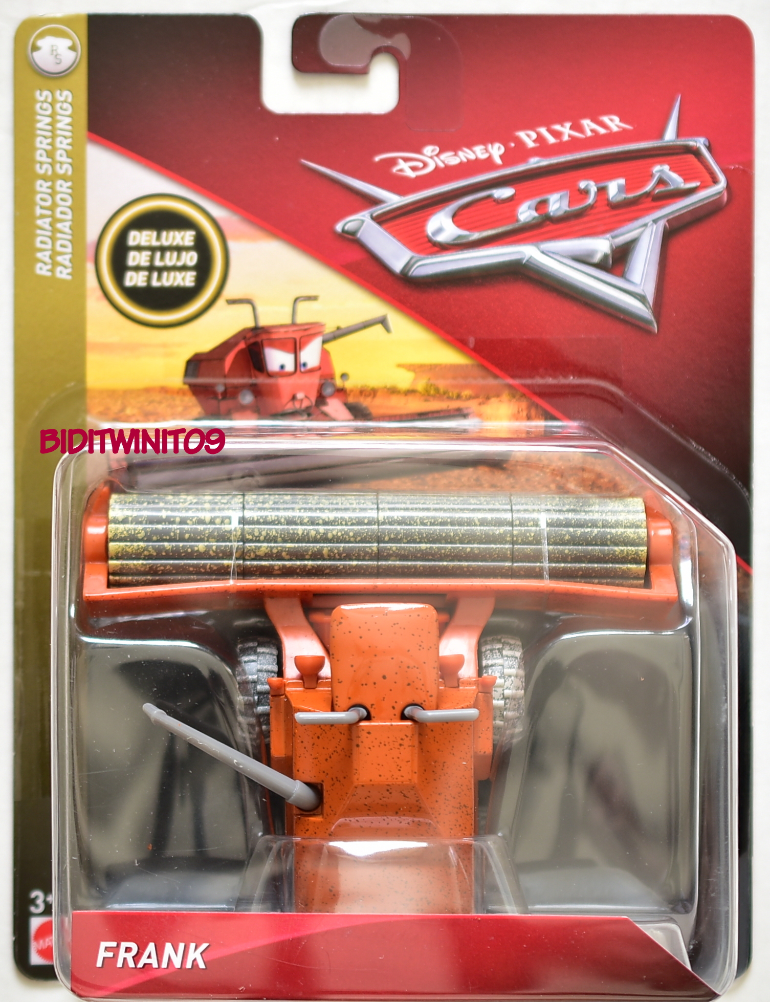 DISNEY PIXAR CAR DELUXE RADIATOR SPRINGS FRANK