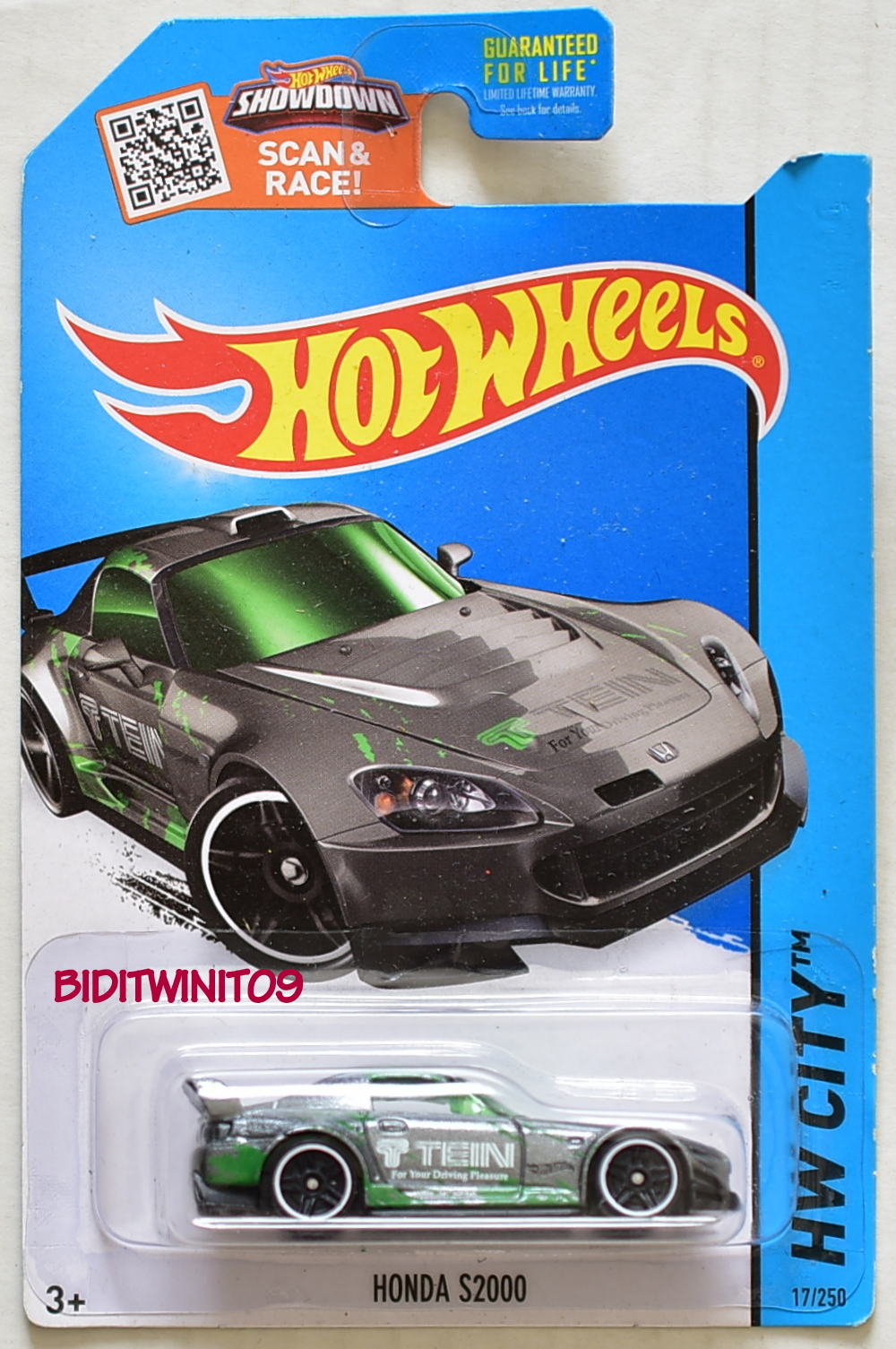 HOT WHEELS 2015 HW PERFORMANCE KMART HONDA S2000