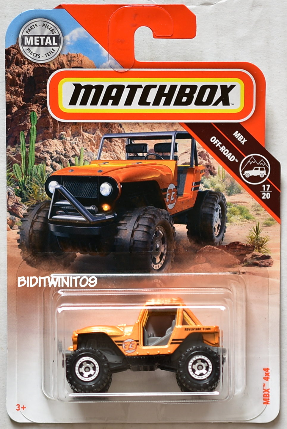 MATCHBOX 2018 MBX OFF-ROAD MBX 4X4