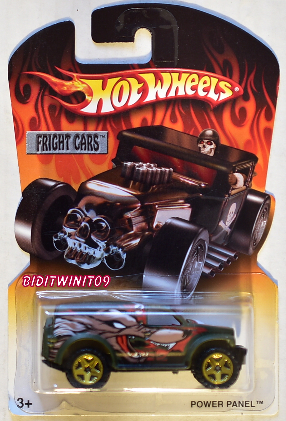 HOT WHEELS FRIGHT CARS POWER PANEL E+