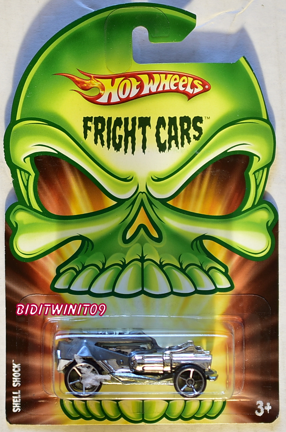 HOT WHEELS 2008 FRIGHT CARS SHELL SHOCK