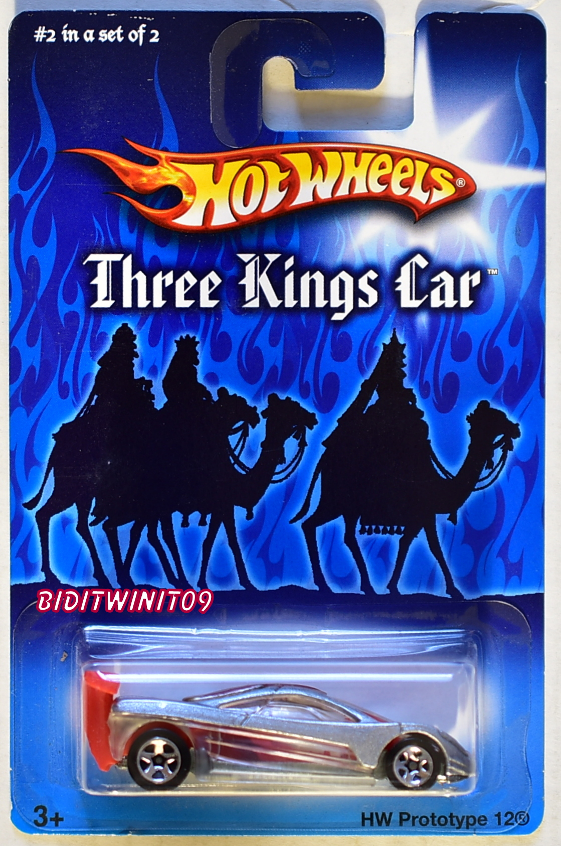 HOT WHEELS THREE KINGS CAR HW PROTOTYPE 12 #2 OF 2