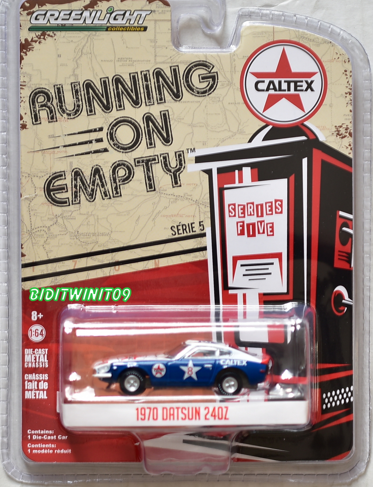 GREENLIGHT 2018 RUNNING ON EMPTY SERIES 5 1970 DATSUN 240Z