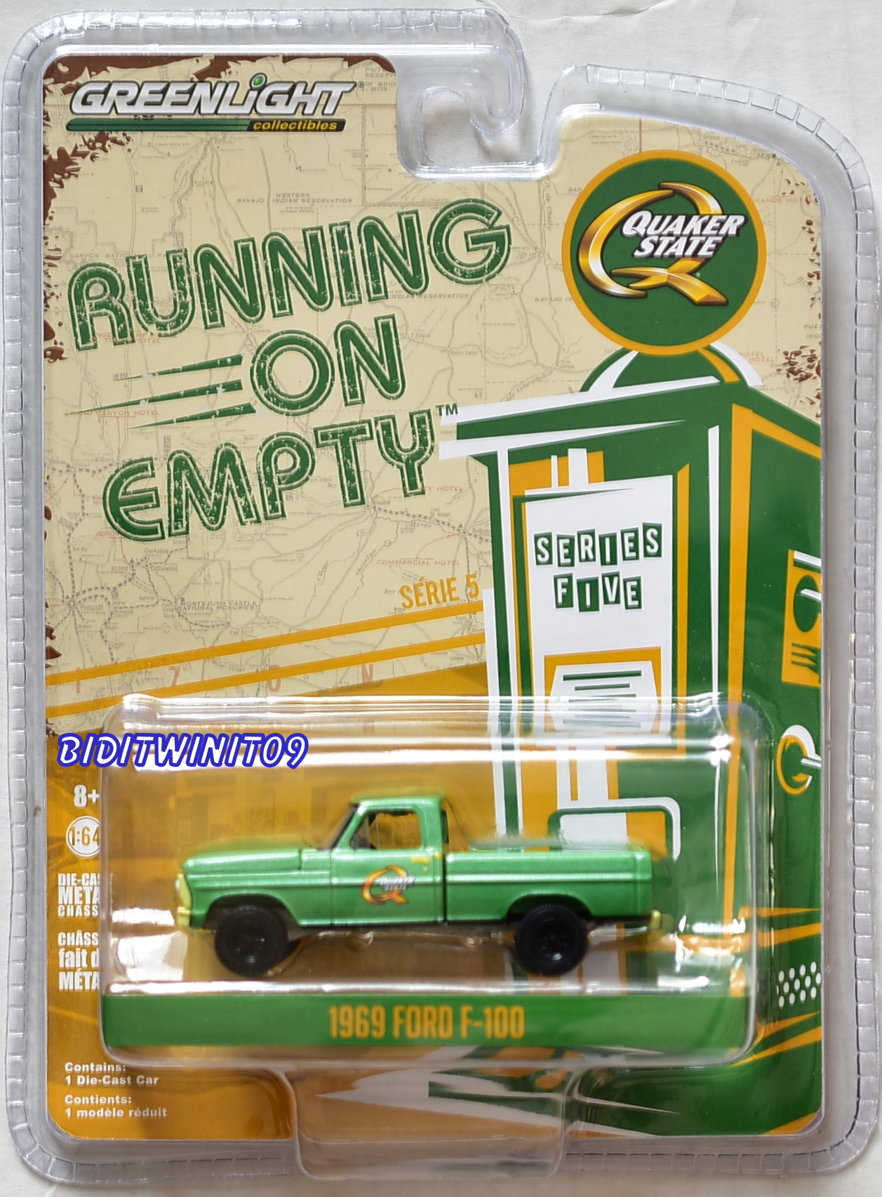 GREENLIGHT 2018 RUNNING ON EMPTY SERIES 5 1969 FORD F-100