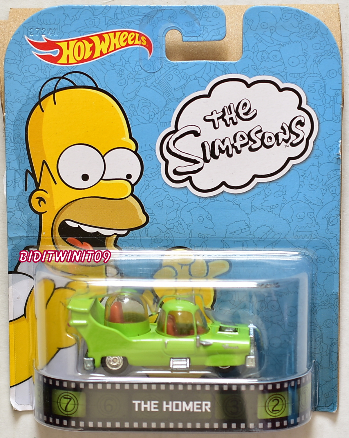 HOT WHEELS RETRO ENTERTAINMENT THE SIMPSONS THE HOMER