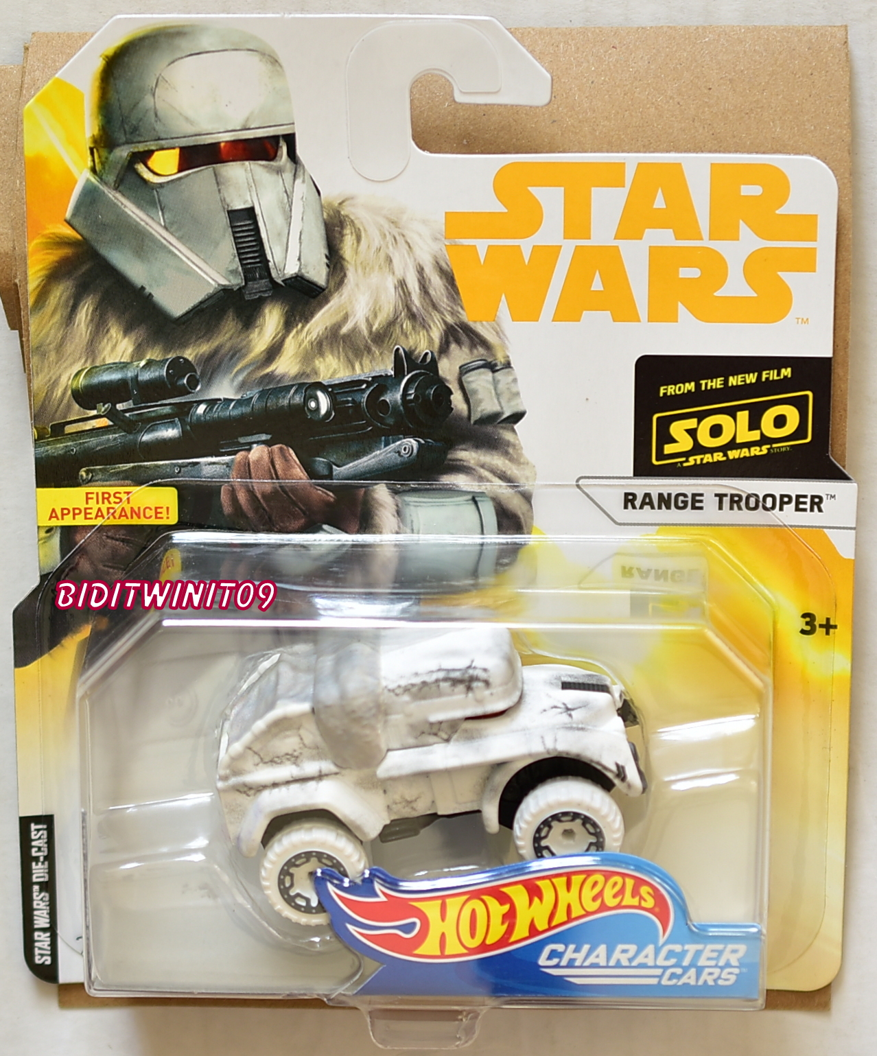 HOT WHEELS 2018 STAR WARS RANGE TROOPER CHARACTER CARS