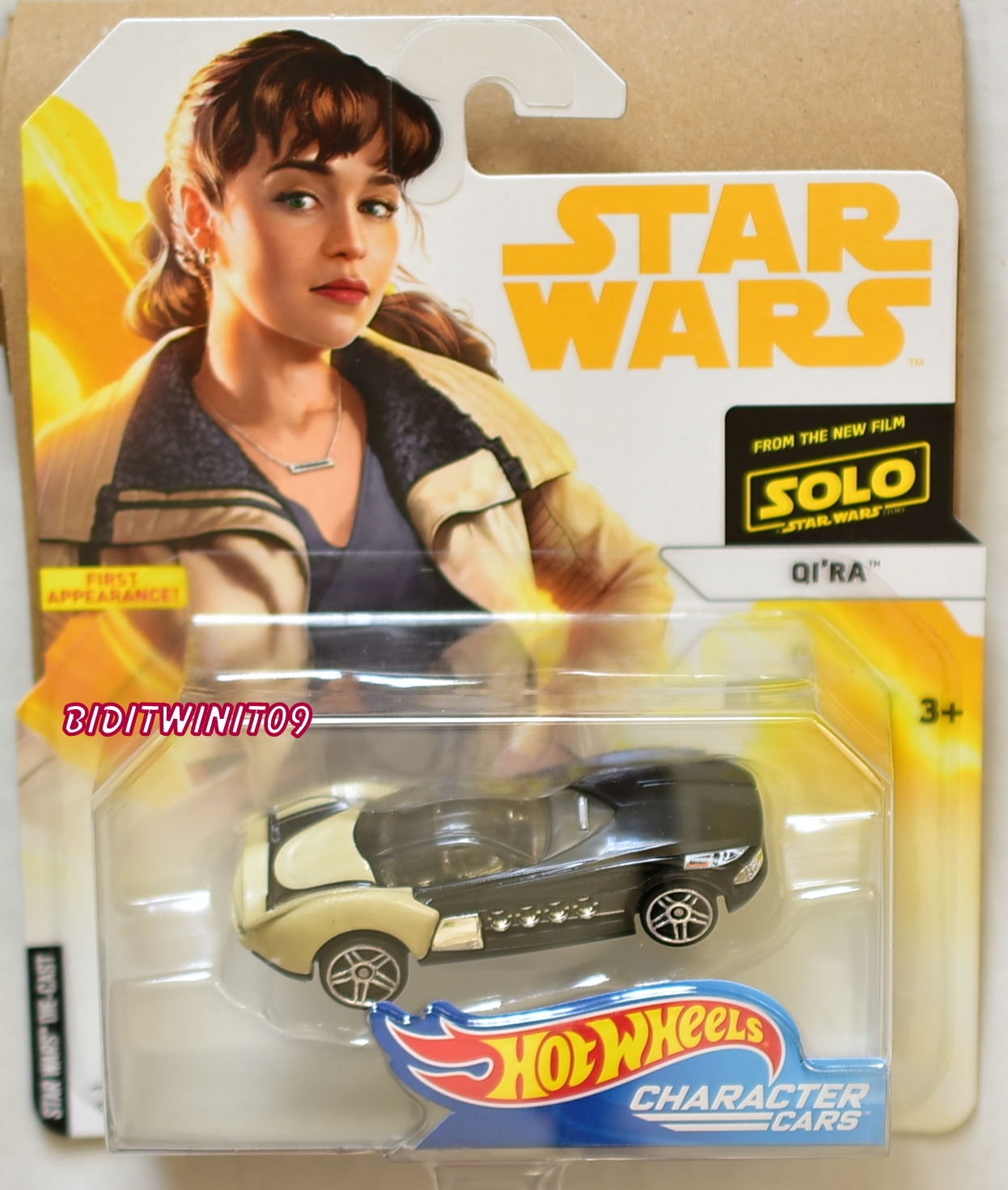 HOT WHEELS 2018 STAR WARS QI'RA CHARACTER CARS E+
