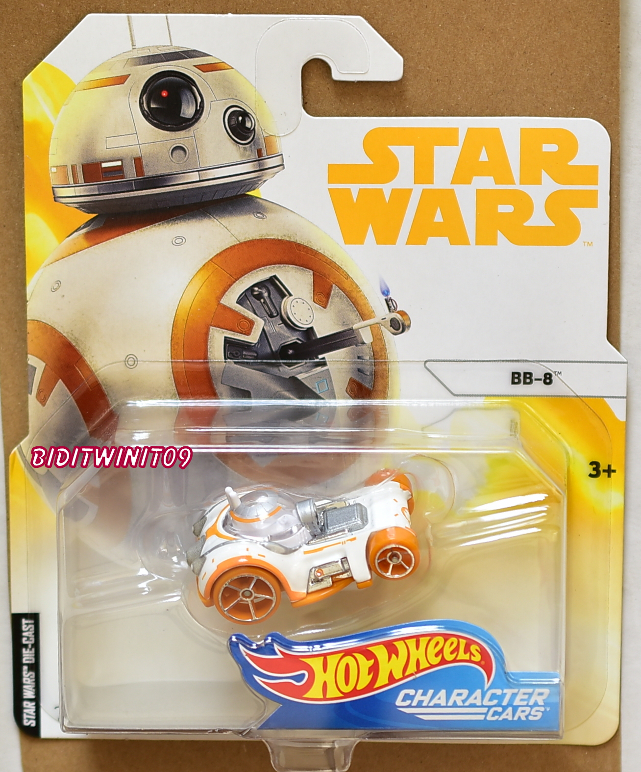HOT WHEELS 2018 STAR WARS BB-8 CHARACTER CARS