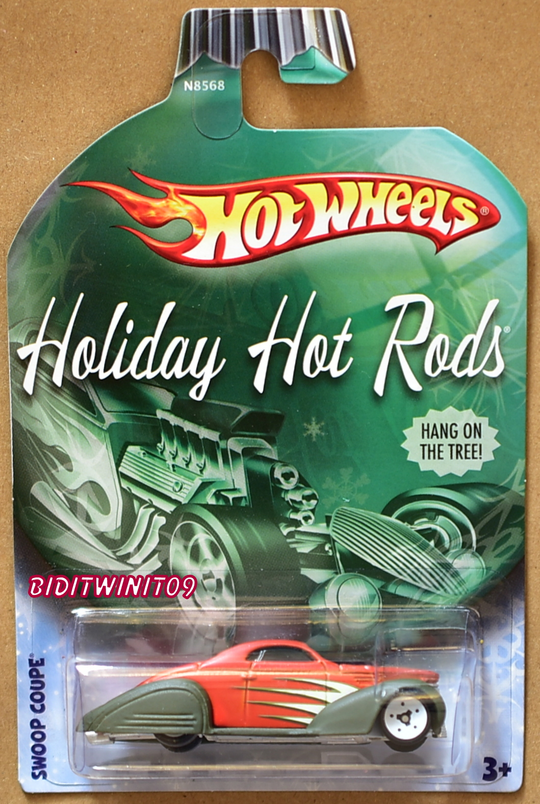 HOT WHEELS 2009 HOLIDAY RODS - SWOOP COUPE