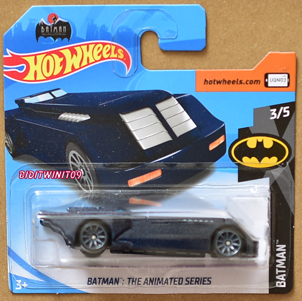 Blue Version HOT WHEELS Loose Animated Batmobile
