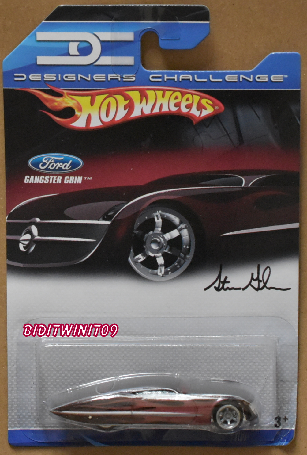 HOT WHEELS 2007 DESIGNERS CHALLENGE GANGSTER GRIN