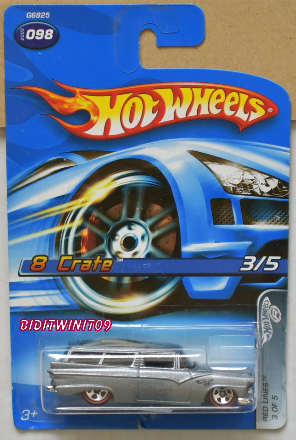 HOT WHEELS 2005 RED LINES 8 CRATE #098