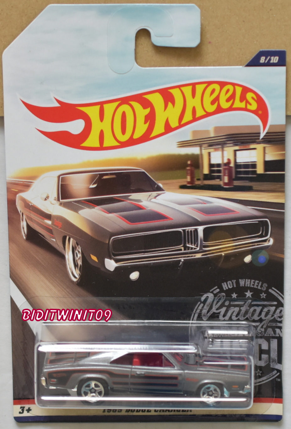 HOT WHEELS 2017 VINTAGE AMERICAN MUSCLE 1969 DODGE CHARGER