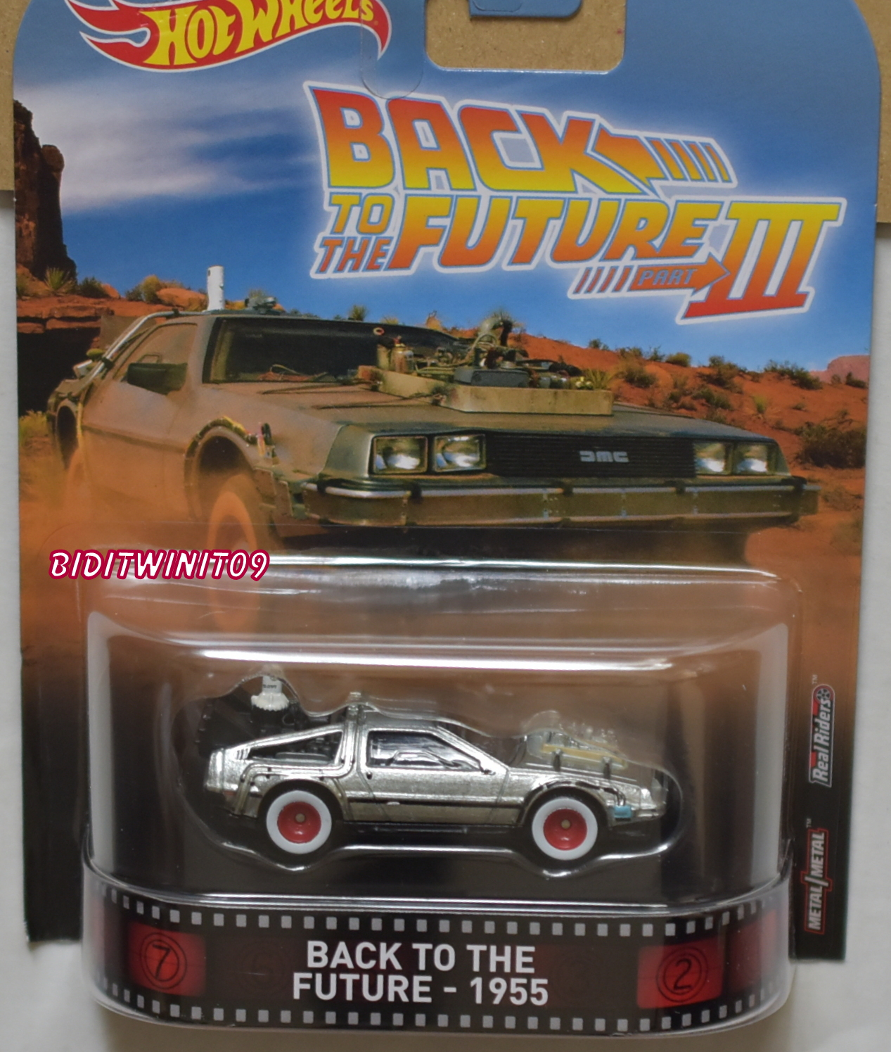 HOT WHEELS 2017 RETRO ENTERTAINMENT BACK TO THE FUTURE - 1955