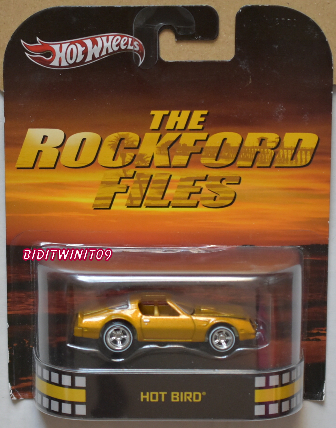 HOT WHEELS RETRO ENTERTAINMENT HOT BIRD THE ROCKFORD FILES E+