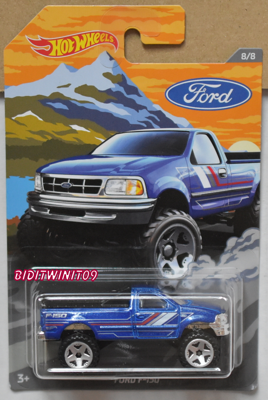 HOT WHEELS 2018 FORD TRUCK FORD F-150 #8/8
