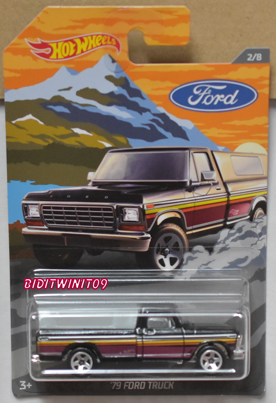 HOT WHEELS 2018 FORD TRUCK '79 FORD TRUCK #2/8